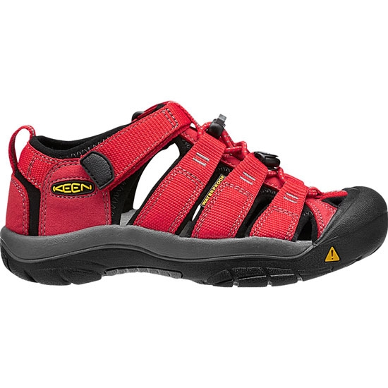 Keen Newport H2 Big Kid - Ribbon Red/Gargoyle