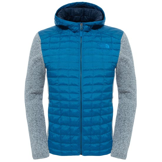 The North Face ThermoBall Gordon Lyons Hoodie - Banff Blue/TNF Light Grey Heather