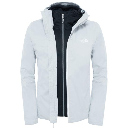 The North Face Morton Triclimate Jacket - TNF White Heather