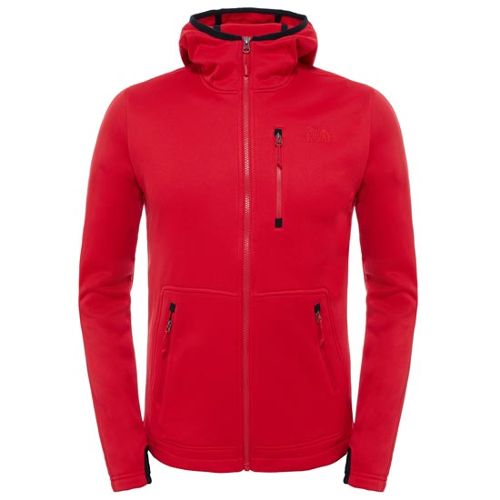 The North Face Rafford Full Zip Hoodie - TNF Red