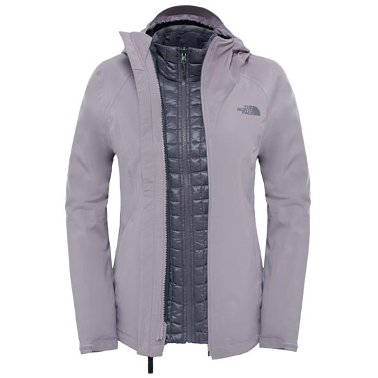 The North Face ThermoBall Triclimate Jacket W - Quail Grey