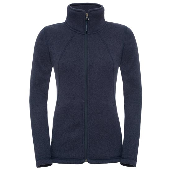 The North Face Crescent Full Zip W - Cosmic Blue Heather