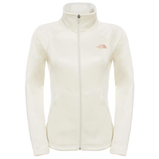 The North Face Agave Full Zip W - Vintage White Heather