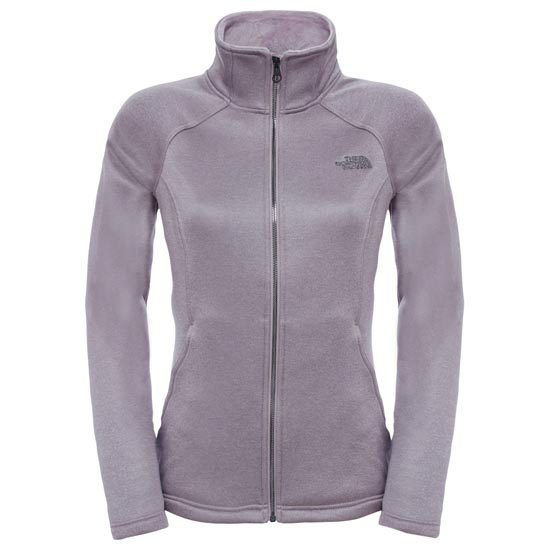 The North Face Agave Full Zip W - Quail Grey Heather