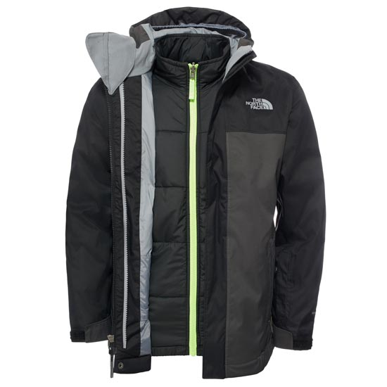 The North Face Boundary Triclimate® Jacket Boy - TNF Black