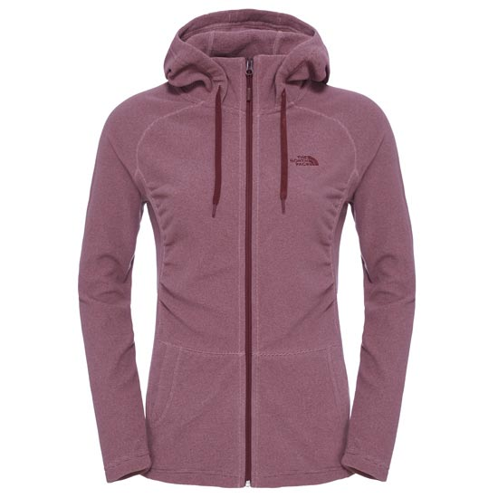 The North Face Mezzaluna Full Zip Hoodie W - Nostalgia Rose Stripe