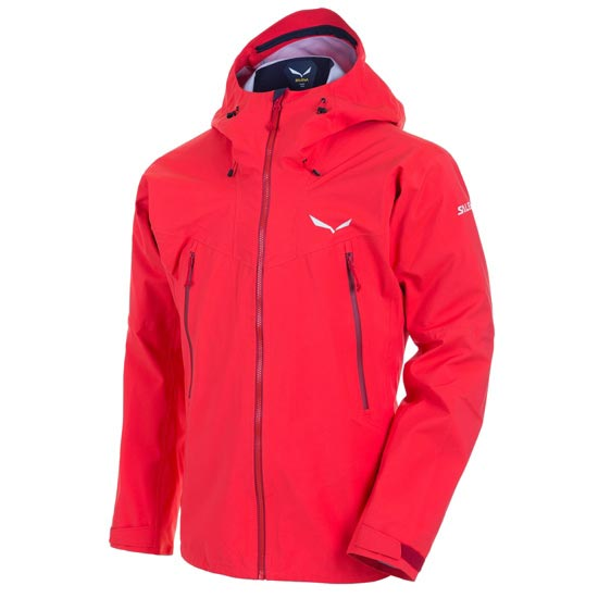 Salewa Ortles GTX Stretch Jacket - Papavero