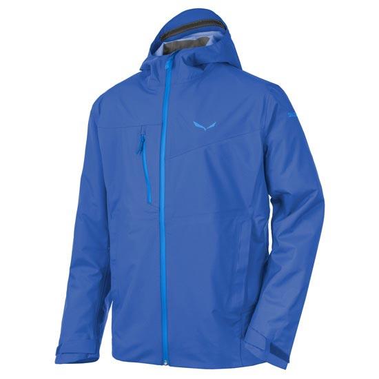 Salewa Puez Powertex 3L Jacket - Nautical Blue