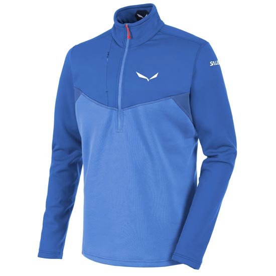 Salewa Ortles Polartec Half-Zip - Nautical Blue