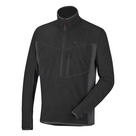 Salewa Selva PL Half Zip - Black Out