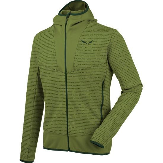 Salewa Puez 2 Full Zip Hoody - Cedar Green