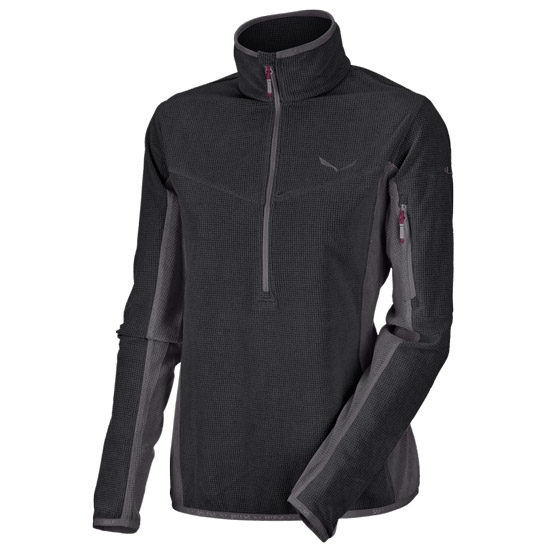 Salewa Selva PL Half Zip W - Black Out