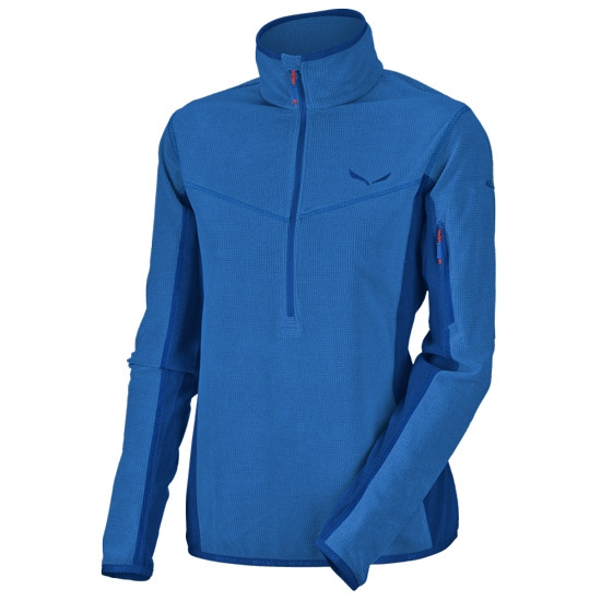 Salewa Selva PL Half Zip W - Nautical Blue