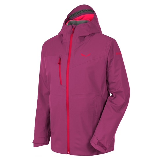 Salewa Puez Powertex 3L Jacket W - Red Onion