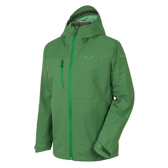 Salewa Puez Powertex 3L Jacket W - Highland Green