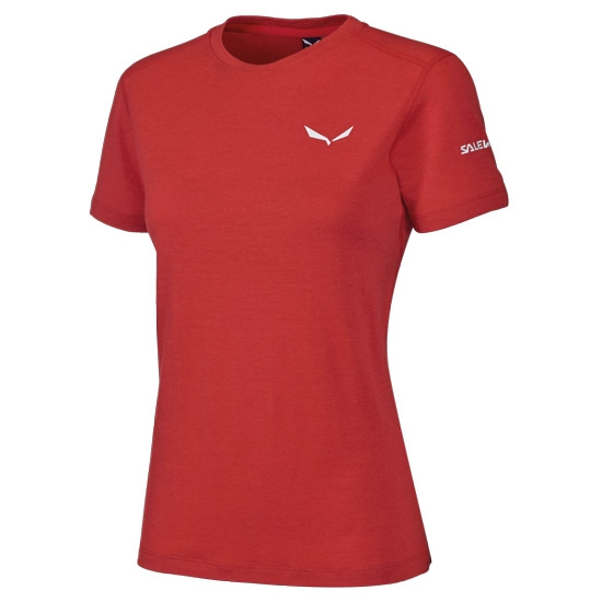 Salewa Sesvenna Wool Tee - Fire