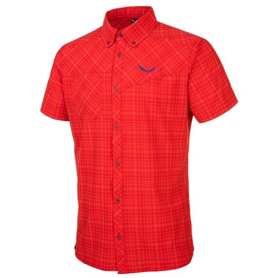 Salewa Puez Smu Dry SS Shirt - Talut Bergrot