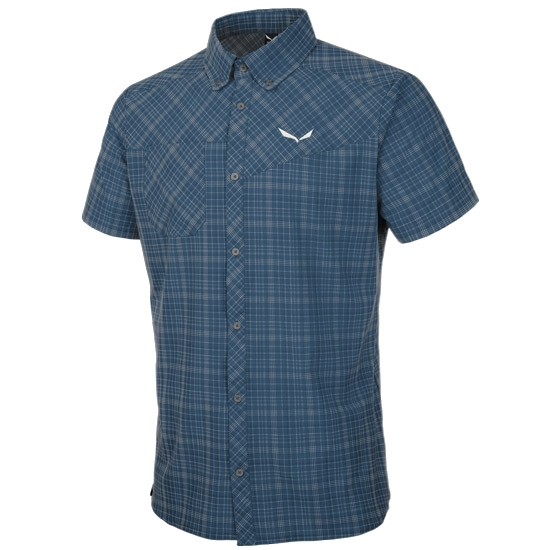 Salewa Puez Smu Dry SS Shirt - Talut Dark Denim