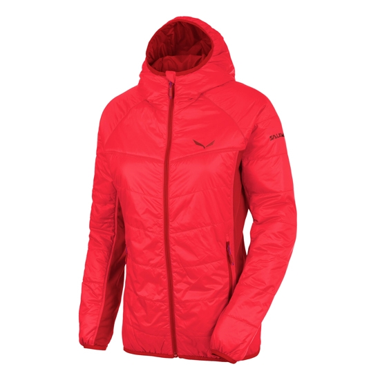 Salewa Duran Hybrid Primaloft Jacket W - Papavero