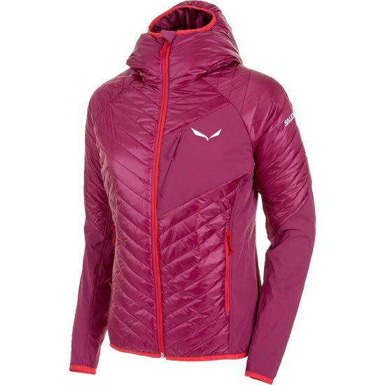 Salewa Ortles Hybrid 2 Jacket W - Red Onion