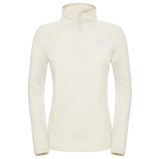 The North Face 100 Glacier 1/4 Zip W - Vintage White