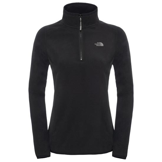 The North Face 100 Glacier 1/4 Zip W - TNF Black