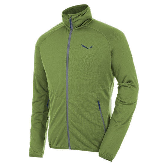 Salewa Puez Grid PL Full Zip - Cedar Green