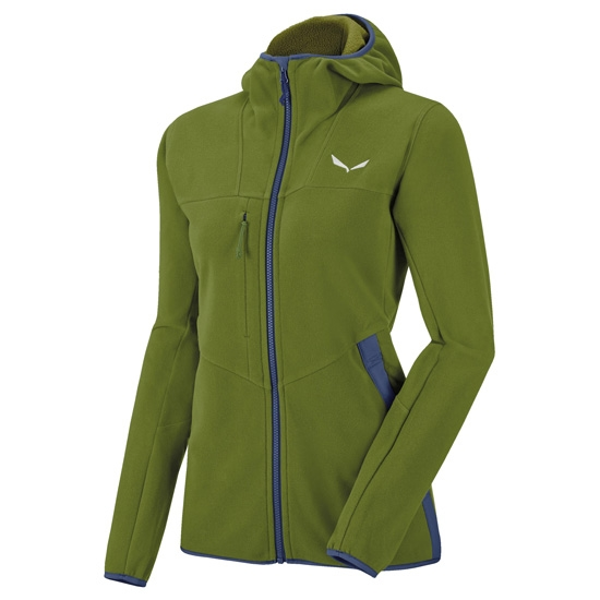 Salewa Antelao Full Zip Hoody W - Cedar Green