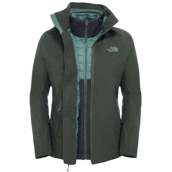 The North Face Brownwood Triclimate Jacket - Climbing Ivy Green