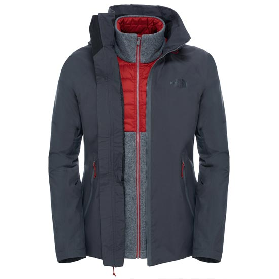 The North Face Brownwood Triclimate Jacket - Asphalt Grey