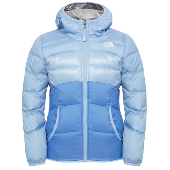 The North Face Reversible Moondoggy Jacket Girl - Grapemist Blue Heather