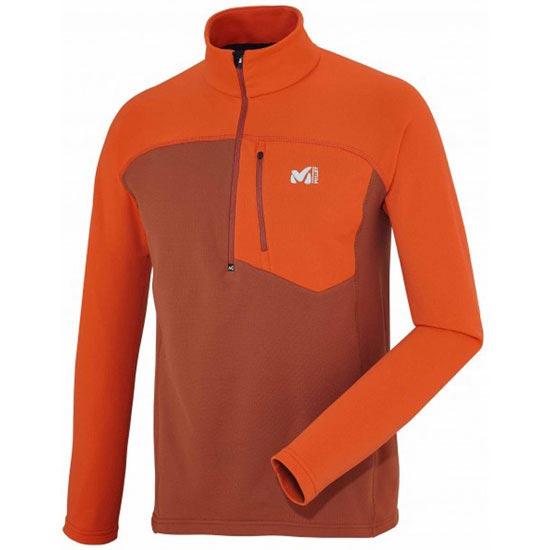 Millet Technostrectch Z - Rust/Bright Orange