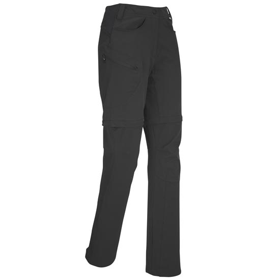 Millet Trekker Stretch Zip Off Pant  W - True Black