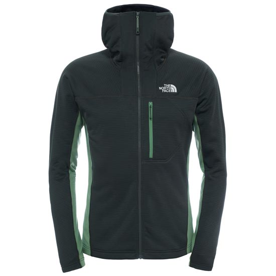 The North Face Super Flux Hoodie Jacket - Rosin Green-Vista Green