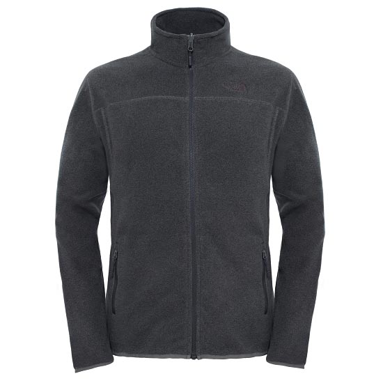 The North Face 100 Glacier Full Zip - Fusebox Grey Black Heather