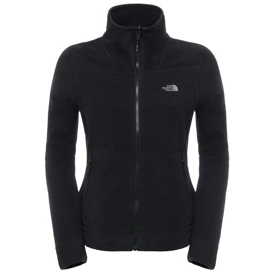 The North Face 200 Shadow Full Zip W - TNF Black