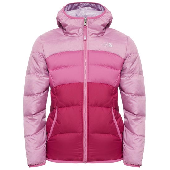 The North Face Reversible Moondoggy Jacket Girl - Wisteria Purple Heather