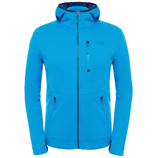 The North Face Rafford Full Zip Hoodie - Blue Aster