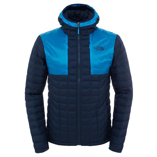 The North Face Thermoball Plus Hoodie - Urban Navy/Blue Aster