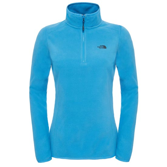 The North Face 100 Glacier 1/4 Zip W - Campanula Blue