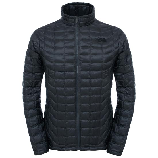 The North Face Thermoball Full Zip Jacket - Asphalt Grey/Fusebox Grey Process Print