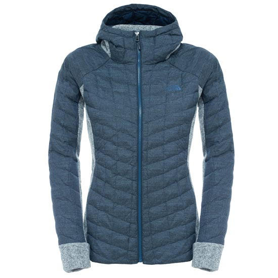 The North Face Thermoball Gordon Lyons Hoodie W - Urban Navy/TNF Light Grey
