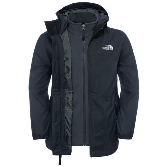 The North Face Elden Rain Triclimate® Jacket Boy - TNF Black