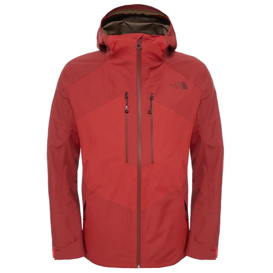 The North Face FuseForm Brigandine 3L Jacket - Fiery Red