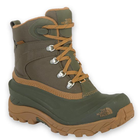The North Face Chilkat II Nylon - Black Ink Green/Dachshund Brown