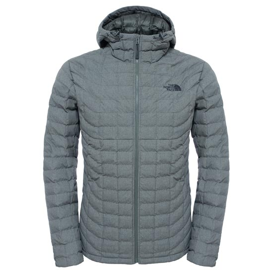 The North Face Thermoball Hoodie - Fusebox Grey Texture