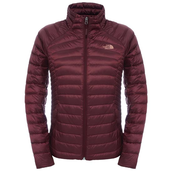 The North Face Tonnerro Fz Jacket W - Deep Garnet Red