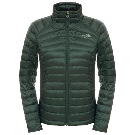 The North Face Tonnerro Fz Jacket W - Darkest Spruce