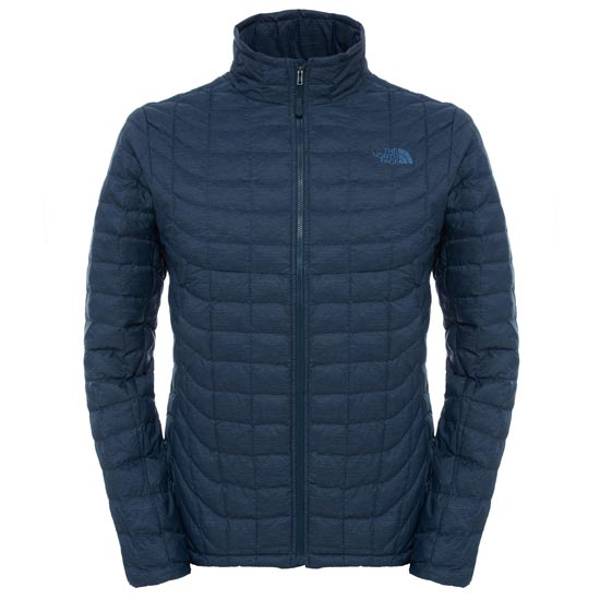 The North Face Thermoball Full Zip Jacket - Urban Navy Stria