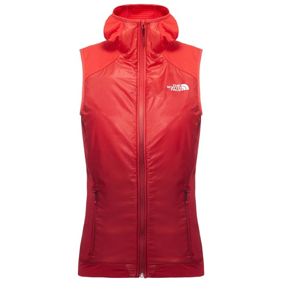The North Face Kokyu Hooded Vest W - Biking Red